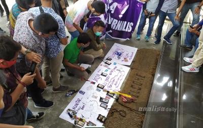 Puluhan Wartawan Unjuk Rasa di Kantor Wali Kota Pematangsiantar