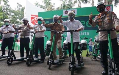 Menhub: Grab Wheels Bantu Aktivitas Masyarakat di Tengah Pandemi