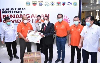 PTPN II Terima Penghargaan dari Gubernur Sumut