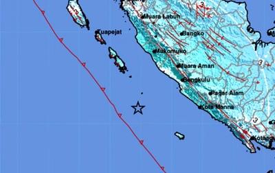 Warga Kota Bengkulu Rasakan Guncangan Kuat Saat Gempa Terjadi