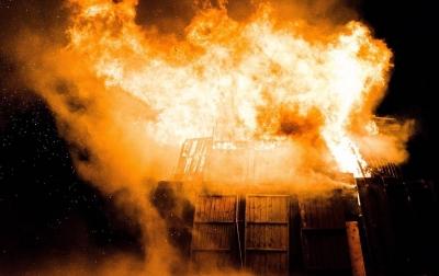 Ditinggal Melayat, Rumah Seorang Janda di Pinangsori Terbakar