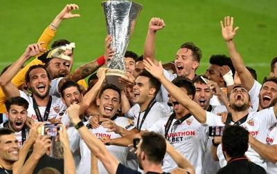 Sevilla Juara Liga Europa Usai Kalahkan Inter Milan 3-2