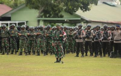 1.888 Personel TNI-Polri Amankan Kunjungan Jokowi ke Aceh