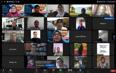 Prodi Sastra Indonesia USU Bahas Linguistik Forensik Lewat Kuliah Daring
