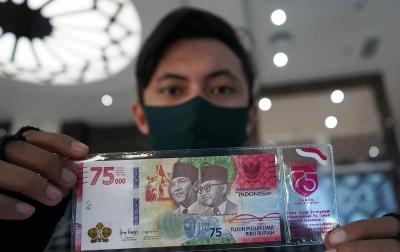 Kuota Penukaran Uang Kertas Rp 75.000 Ditambah 2 Kali Lipat