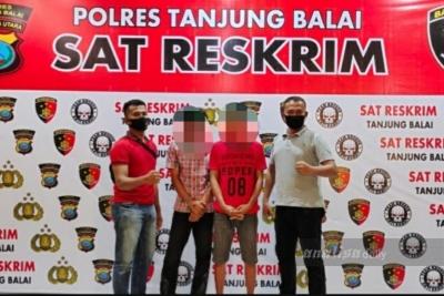 Polres Tanjungbalai Tangkap Dua Jurtul Togel