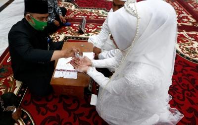 Januari-Juli 2020, Resepsi Pernikahan Sebanyak 43.414