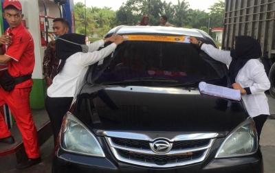 Dampak Pemasangan Stiker, Konsumsi BBM Subsidi di Aceh Turun