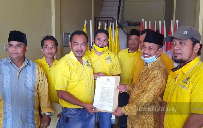 TSO Daftar Calon Ketua DPD Golkar Palas