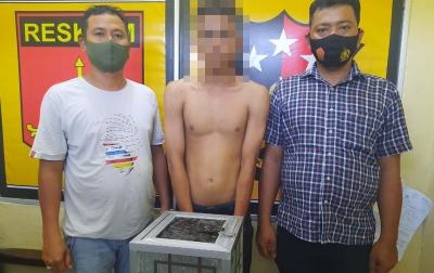 Spesialis Pencuri Kotak Infak Masjid Ditangkap Warga Saat Beraksi