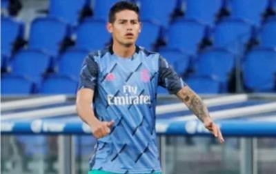 James Rodriguez Mendekat ke Everton