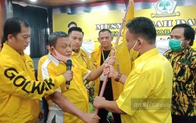 Fernando Simanjuntak Pimpin Partai Golkar Tapanuli Utara