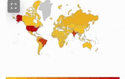 Daftar Negara yang Belum Konfirmasi Kasus Covid-19