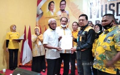 Partai Golkar Resmi Dukung Surya-Taufik di Pilkada Asahan