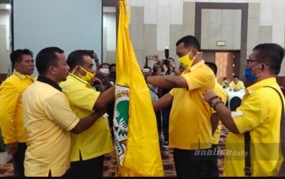 Effendi Napitupulu Kembali Terpilih Jadi Ketua Golkar Toba