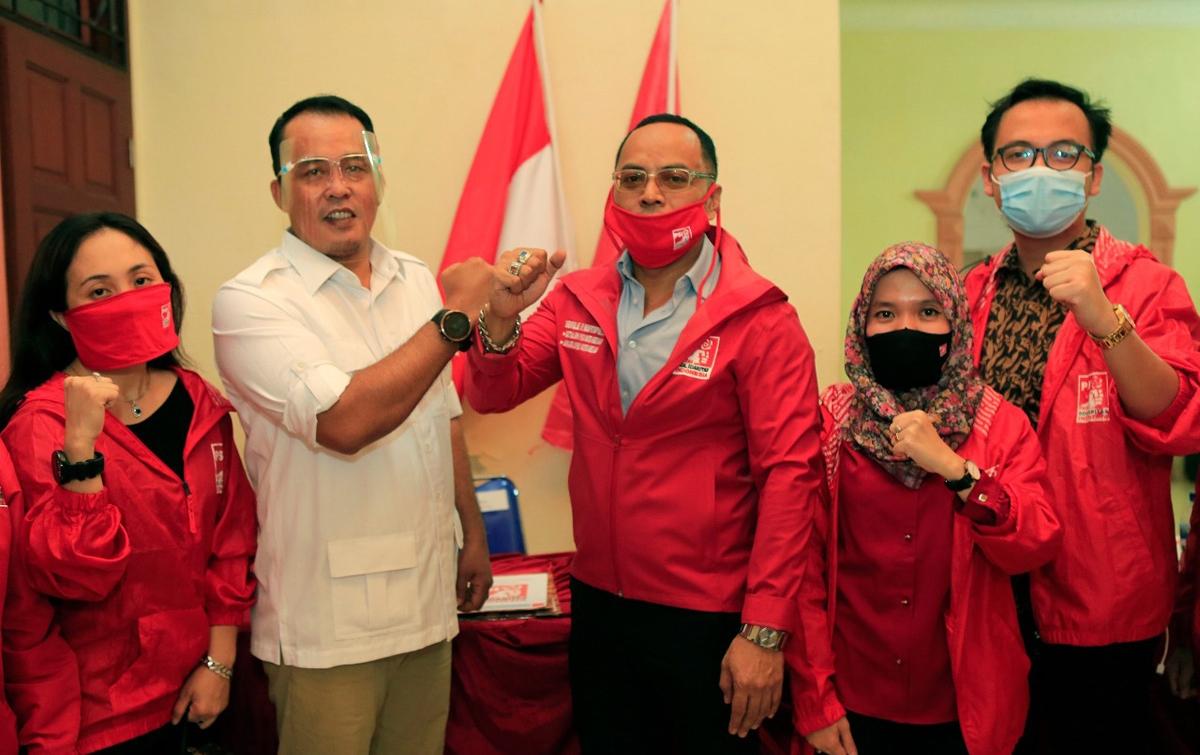Delapan Partai Dukung Bobby Nasution-Aulia Rachman