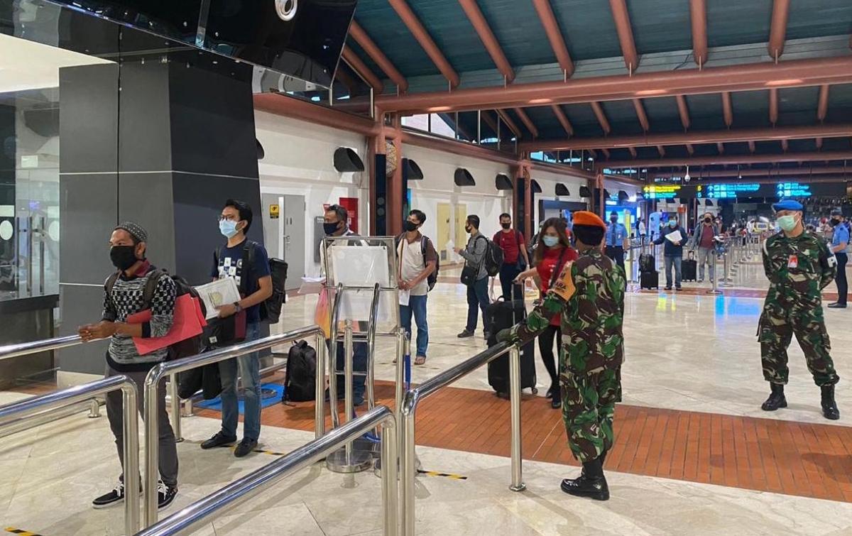 PSBB Kembali Diterapkan, AP II Perketat Protokol Kesehatan di Bandara
