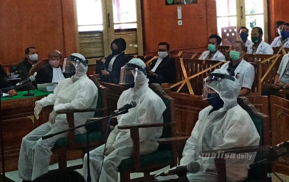 Pengadilan Tinggi Medan Vonis Mati 2 Eksekutor Hakim Jamaluddin