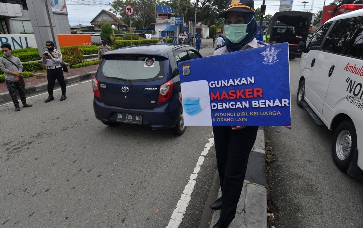 Penambahan Kasus Corona di Indonesia 4.634