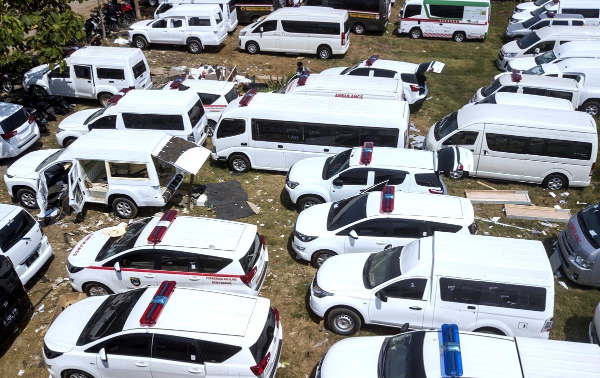 Foto: Perakitan Mobil Ambulans Meningkat