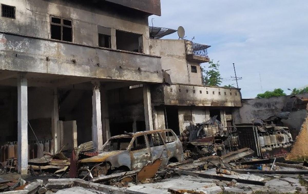 Kebakaran di Siantar, Lima Orang Meninggal Dunia