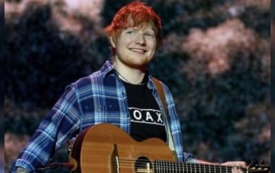 Selamat, Ed Sheeran Dikaruniai Seorang Putri