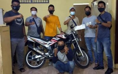 Curi Sepeda Motor, Napi Bebas Asimilasi Ditangkap Lagi