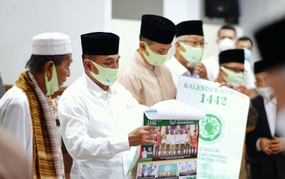 Gubernur Edy Ajak Ulama Tuntaskan Pandemi Covid-19