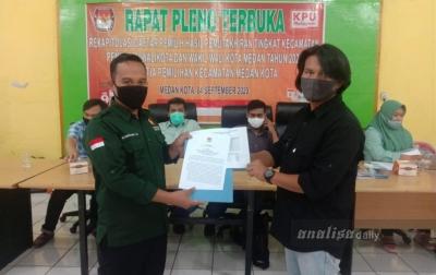 PPK Medan Kota Gelar Rapat Pleno Rekapitulsai Daftar Pemilih