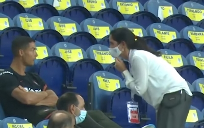 Tak Pakai Masker, Ronaldo Kena Tegur Petugas Saat Portugal Vs Kroasia