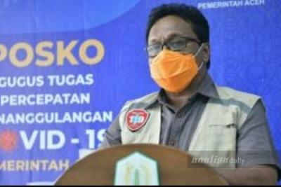 Positif Baru Bertambah 12, Kasus Covid-19 di Aceh Jadi 2.053 Orang