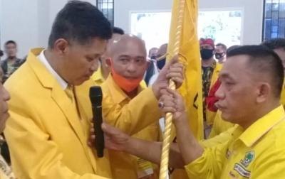 Jalan Tengku Ameck Jadi Ketua Golkar Deli Serdang Untuk Ketiga Kalinya