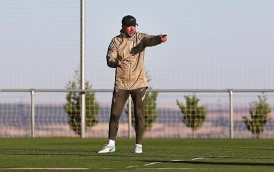 Diego Simeone Positif Terinfeksi Virus Corona
