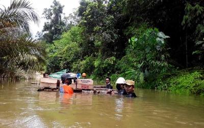 Banjir Kotawaringin Timur, Bupati Tetapkan Masa Tanggap Darurat 2 Pekan