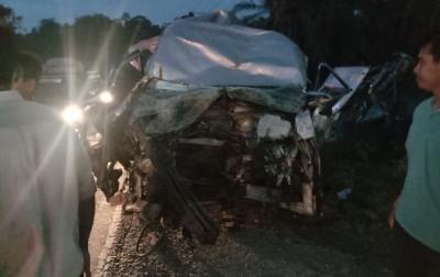 Lakalantas Beruntun Terjadi di Jalinsum Aceh Tamiang, Libatkan 4 Mobil