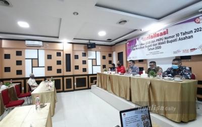 Hanya Surya yang Menghadiri Sosialisasi Oleh KPU Asahan