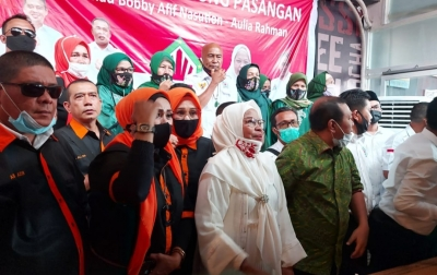 RKLA Siap Menangkan Bobby-Aulia di Pilkada Medan