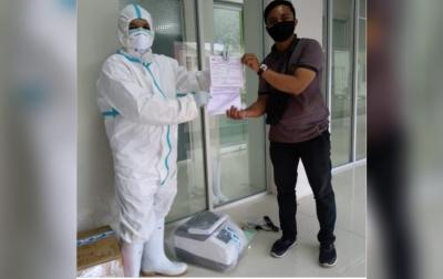 Unsyiah Kembali Terima Reagent dan Alat PCR Bantuan dari BNPB