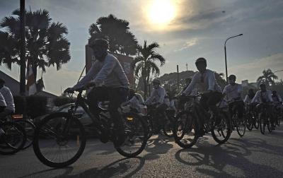 Pemerintah Daerah Diminta Siapkan Anggaran Infrastruktur Bersepeda