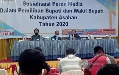 Bawaslu Asahan Sosialisasi Peran Media dalam Pilkada