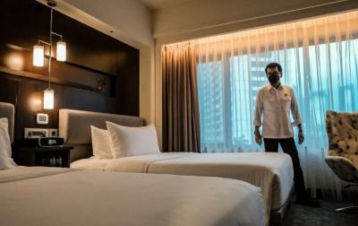 OTG Positif Covid-19 Akan Dirawat di Hotel
