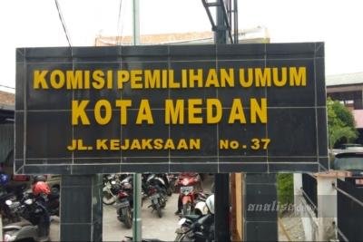 Digelar Tertutup, Besok KPU Medan Tetapkan Peserta Pilkada 2020
