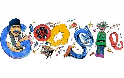 Google Doodle Mengenang Benyamin Sueb