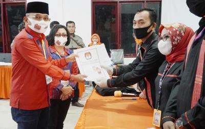 Anton Achmad Saragih-Rospita Sitorus Resmi Jadi Paslon Pilkada Simalungun