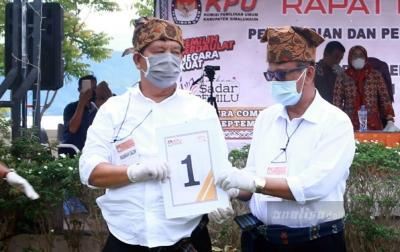 RHS - ZW Nomor Urut 1 di Pilkada Simalungun