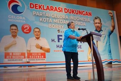 Dukung Bobby-Aulia, Fahri Hamzah: Kolaborasi Sempurna Untuk Memimpin Kota Medan