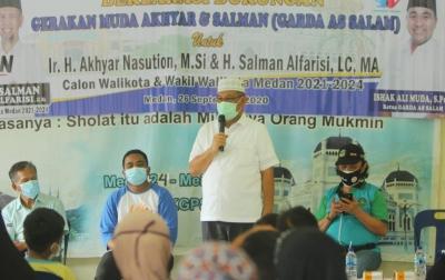 Relawan Garda As Salam Siap Menangkan Akhyar-Salman