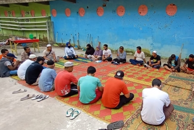 Perwakilan Kemensos Antusias Kampung Kubur Berbenah ke Hal Positif
