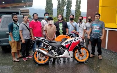 Beraksi di Siborongborong, Pelaku Curanmor Ditangkap di Aceh