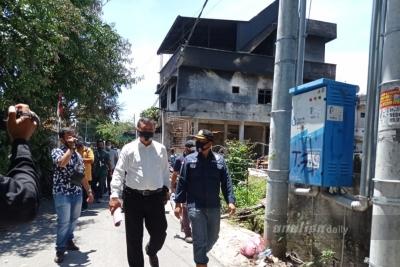 Tim Labfor Selidiki Penyebab Kebakaran di Siantar
